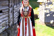 • bunader • / Norwegians national costumes