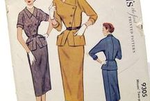 Vintage Coat dresses / This board collects images of vintage coat dresses from the 30s, 40s, 50s, and 60s. Includes sewing patterns, magazine ads, and movie stills.