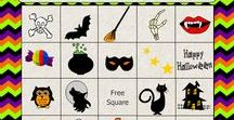 Free Halloween Printables / On this board I am sharing various types of  Free Halloween printables such as Free printable Halloween Games, Halloween coloring pages, Labels, Tags and other free printable Halloween related Stationery.