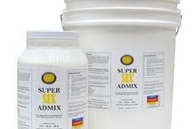 Concrete Admixtures / Everything that goes into your Concrete Mix;  Aggregates, Cements/Pozzolans, Fibers, Pigments, Reinforcements and more
