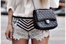 Monochrome - Bags & Wallets / Black & White