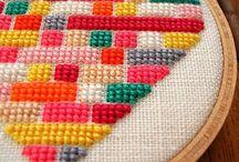 Embroidery / Free patterns, ideas, inspiration & stitch tutorials. Mostly modern designs.