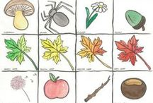 Autumn Fall crafts for kids / Kids craft ideas for Autumn & Fall