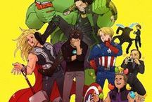 Superheroes / This board contains many spoilers, especially from newer movies:)  / by Ashlyn Olson