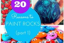 Stone & rock painting