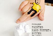 Football & World Cup craft ideas / Football/soccer (Euro & World Cup) crafts, games & activities for kids.