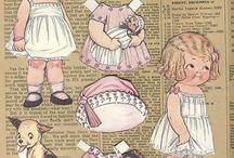 Öltöztető babák