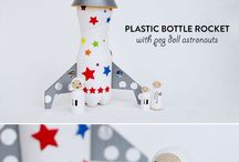 Space crafts for kids / Star, moon, planets & galaxy crafts for kids