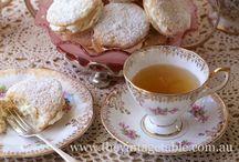 Té / Brunch / Exquisiteces y vajillas para el Té