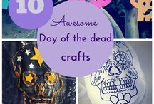 Day of the Dead for kids / Dia de muertos (Mexican traditional celebration) crafts & activities for kids.