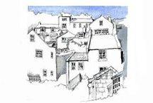 SKETCHES -Watercolour