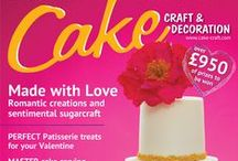 February 2015 Cake Craft & Decoration / A preview of February 2015 issue available to buy at www.cake-craft.com