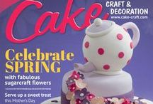 March 2015 Cake Craft & Decoration / A preview of March 2015 issue available to buy at www.cake-craft.com