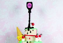 Gravity Defying Cakes / Gravity defying cakes that have featured in Cake Craft & Decoration