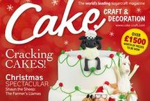 December 2015 Cake Craft & Decoration / December 2015 issue available to buy at www.cake-craft.com
