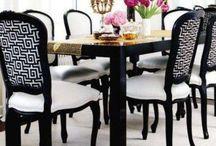 Comedor / Ideas de estilos comedor, sillas y otros muebles