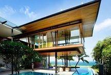 My Dream House / #architecture #interior #outdoor #design