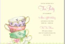 Tea Party Shower / Ideas for decorating a Tea Party-themed Shower