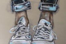 Art: Paint & Drawings
