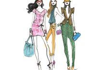 Henri Bendel Drawings