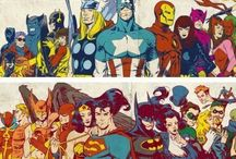 Marvel/dc / Who is phyced about Avengers Age Of Ultron ?! Comment on one of pins / by Abigail Alvarez
