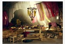 Lush Festive Decor /  Decor which invokes sublime moods, and special occasions to remember.