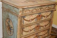 Bleu Stenciled & Hand Painted Furniture / by Patricia Main