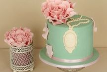 I ♡ Beautiful Cakes / Gorgeous cakes that look delicious!  #cakes #beautiful
