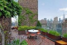 Rooftop Gardens & Terraced Balconies / by Patricia Main