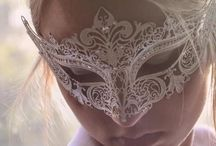 Maskquerade masks / Someday I would love to go to a Masquerade party.