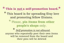 Etsy Finds - board for sharing love - DO NOT PIN YOUR OWN ITEMS / THIS BOARD IS FOR PINNING STUFF YOU LIKE FROM OTHER PEOPLE'S SHOPS. THIS IS NOT A SELF-PROMOTION BOARD. Spamming will not be tolerated. ►►►►DO NOT PIN ITEMS FROM YOUR OWN SHOP(S) There has been a number of board members who ignored the rules. They have been removed from the board. Anyone pinning their OWN products, or spam the board with 3+ pins in a row from the same shop, will be removed from the board immediately.  To join this group board, follow me & send me PM pinterest.com/DesignByWendyK