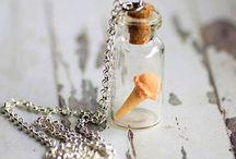 Miniature Food Jewellery / MIniature Food jewelry handmade by Kitschy Koo Design on Etsy!