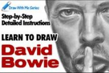 Draw With Me Series / The Draw With Me Series will be an ongoing 'learn how to draw' approach including step-by-step instructions, video demos and illustrations.