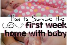 Welcoming Baby / tips, tricks and helpful hints to get you through your first year!