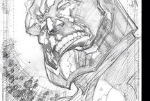 Ivan Reis / Some Reis' penciled works