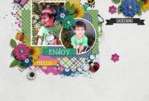 Keley Designs Creative Inspiration / Available at  Gingerscraps: http://bit.ly/1s0xYXS  / by Keley Designs .