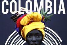"""COLOMBIA, TIERRA QUERIDA ! / """"¡Independencia! grita El mundo americano; Se baña en sangre de héroes La tierra de Colón"""" - Rafael Nuñes"""