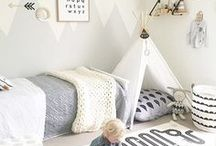 Girls & Boys Bedrooms / So they have grown out of the nursery? Check out these toddler girls and boys bedroom ideas to spark some new decorative creativity!
