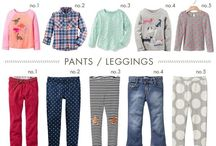 Fall Fashion - Girls / A guide to helping you find the latest toddlers and little girls fashion. Including capsule wardrobe ideas!