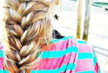 Hair Flair / Hair styles, braids, flips, plaits and knots.  / by Belinda Wallace