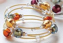 glass beads / shinning!became luxury jewelry