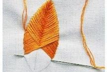 Thread & needles / Embroidery tips and ideas