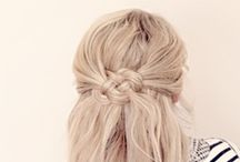 Hair... / Ideas for cute hairstyling