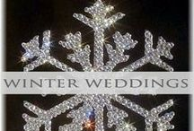♥♥♥Winter Weddings / Beautiful winter wedding decor and cake topper inspiration and ideas. We pin the latest trends to keep you in the loop!