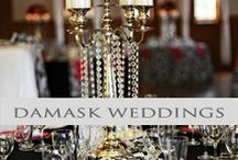 ♥♥♥Damask Weddings / Nothing says luxury like a Damask Wedding! We pin the latest trends to keep you in the loop!