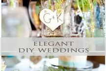 ♥♥♥Elegant DIY Weddings / DIY Weddings don't have to look simplistic. Make your DIY day beautiful and elegant! Dazzle Me Elegant pins the latest trends to keep you in the loop! Please pin up to 10 pins at one time and then wait for others to pin before re-pinning. For an Invite to our group board leave a comment on the ~ YOU'RE INVITED board ***To avoid spam, excessive hashtags, please do not invite others to join and keep pins wedding related and helpful for brides-to-be :) / by Dazzle Me Elegant ®