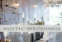 ♥♥♥Rustic Elegance Wedding / Rustic + Elegance = Warm Stunning results! We pin the latest trends to keep you in the loop!