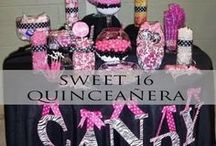 Sweet 16 | Quinceañera / Fabulous party decorations and ideas for the best Sweet 16 birthday party ever or Quinceañera!