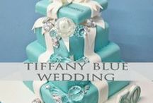 Tiffany Blue Weddings / Nothing says classy like the iconic Tiffany Blue! We pin the latest trends to keep you in the loop!