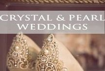 ♥♥♥Crystal and Pearl Weddings / Exquisite elegance with crystal and pearls! Dazzle Me Elegant pins the latest trends to keep you in the loop! Please pin up to 10 pins at one time and then wait for others to pin before re-pinning. For an Invite to our group board leave a comment on the ~ YOU'RE INVITED board ***To avoid spam, excessive hashtags, please do not invite others to join and keep pins wedding related and helpful for brides-to-be.